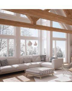 Notre gamme defenêtre PVC double vitragePlénitude vise la haute performance. La fenêtre en PVC avec double vitrage Plénitude, vous garantie 100 % de satisfaction.